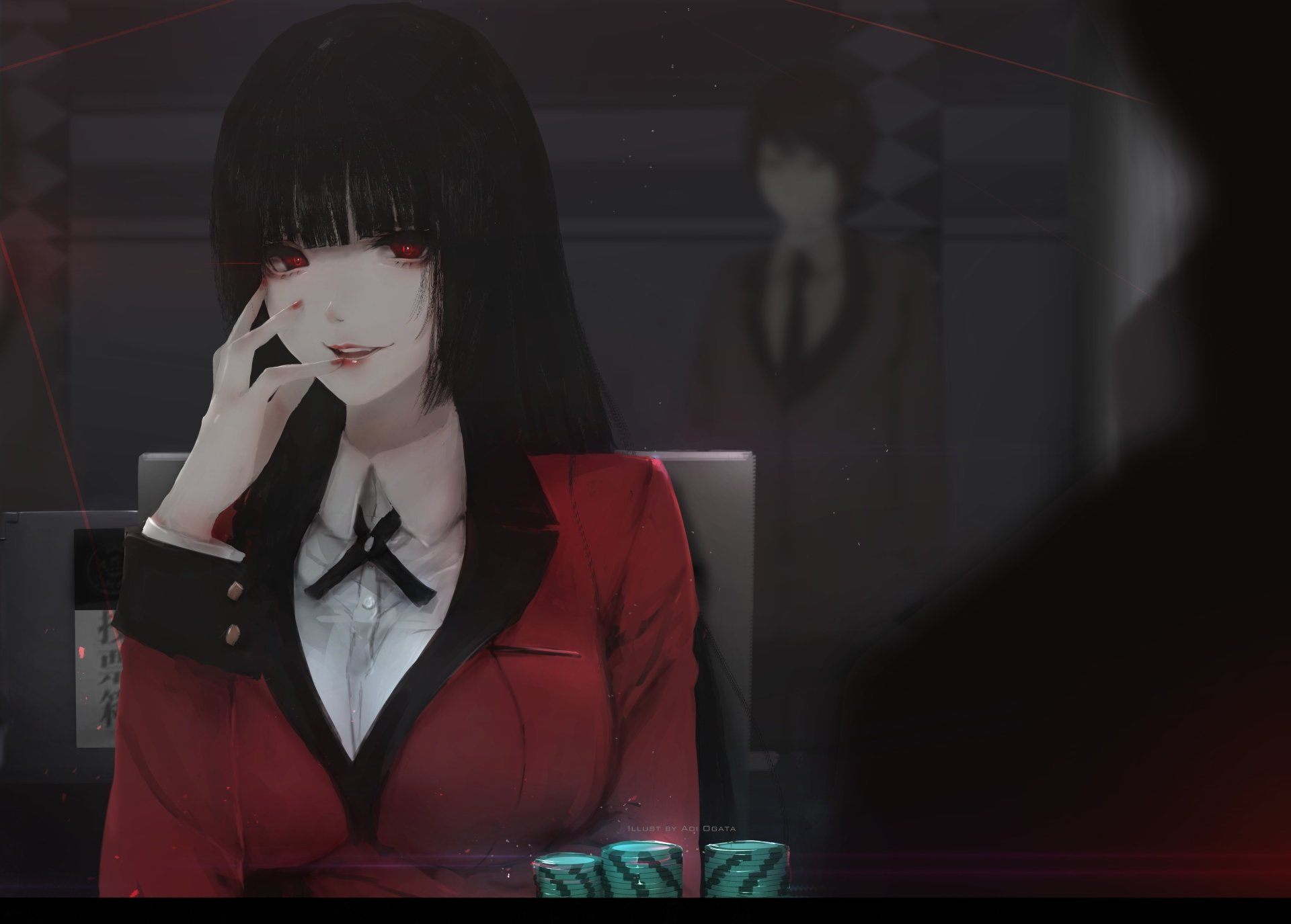 15 4k Ultra Hd Kakegurui Wallpapers Background Images Wallpaper Abyss