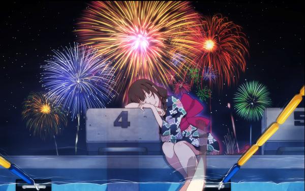 Anime Uchiage Hanabi, Shita kara Miru ka? Yoko kara Miru ka? HD Wallpaper | Background Image