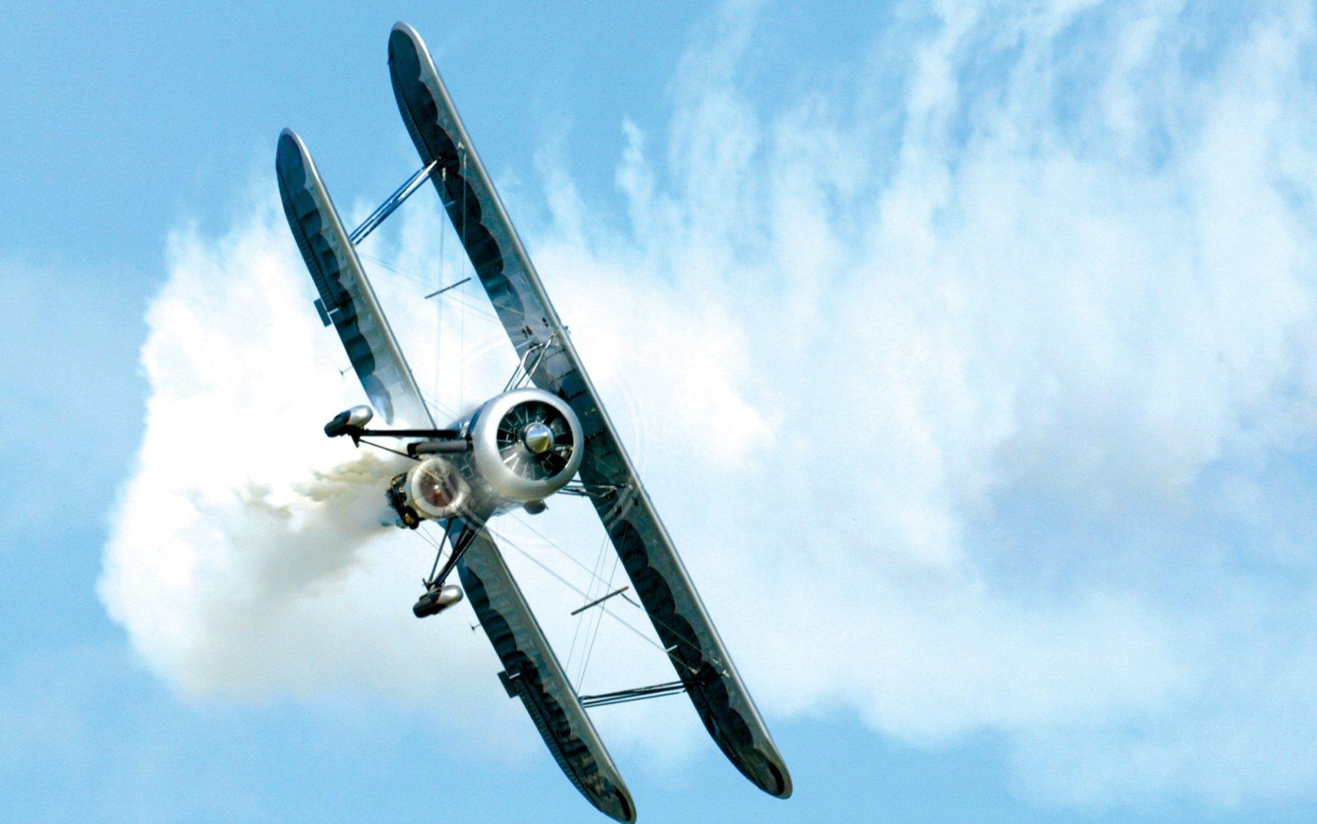 Vehículos - Aeronave  Biplane Fondo de Pantalla