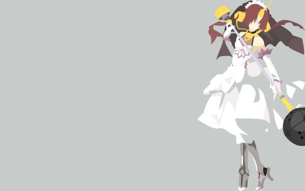 Anime Fate/Apocrypha Fate Series Berserker of Black Minimalist HD Wallpaper | Background Image