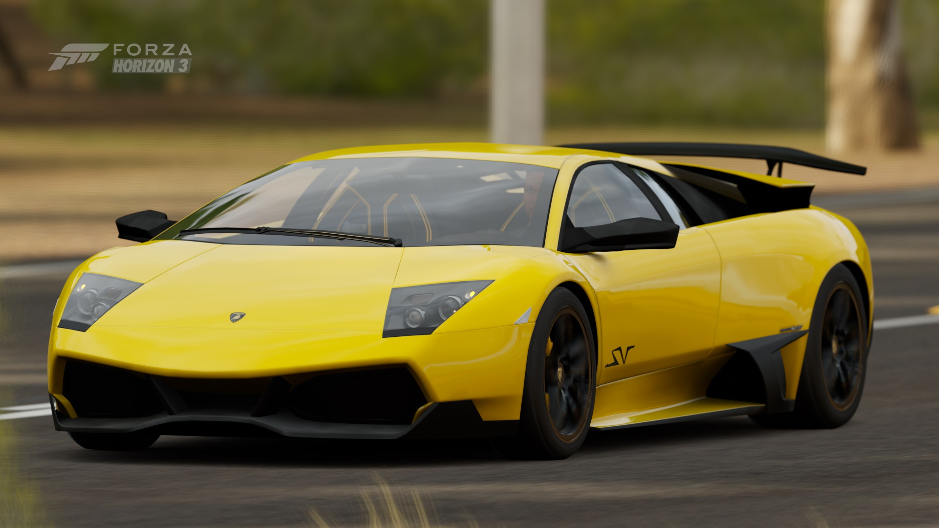 2010 Lamborghini Murcielago Lp 670 4 Sv Hd Wallpaper Background