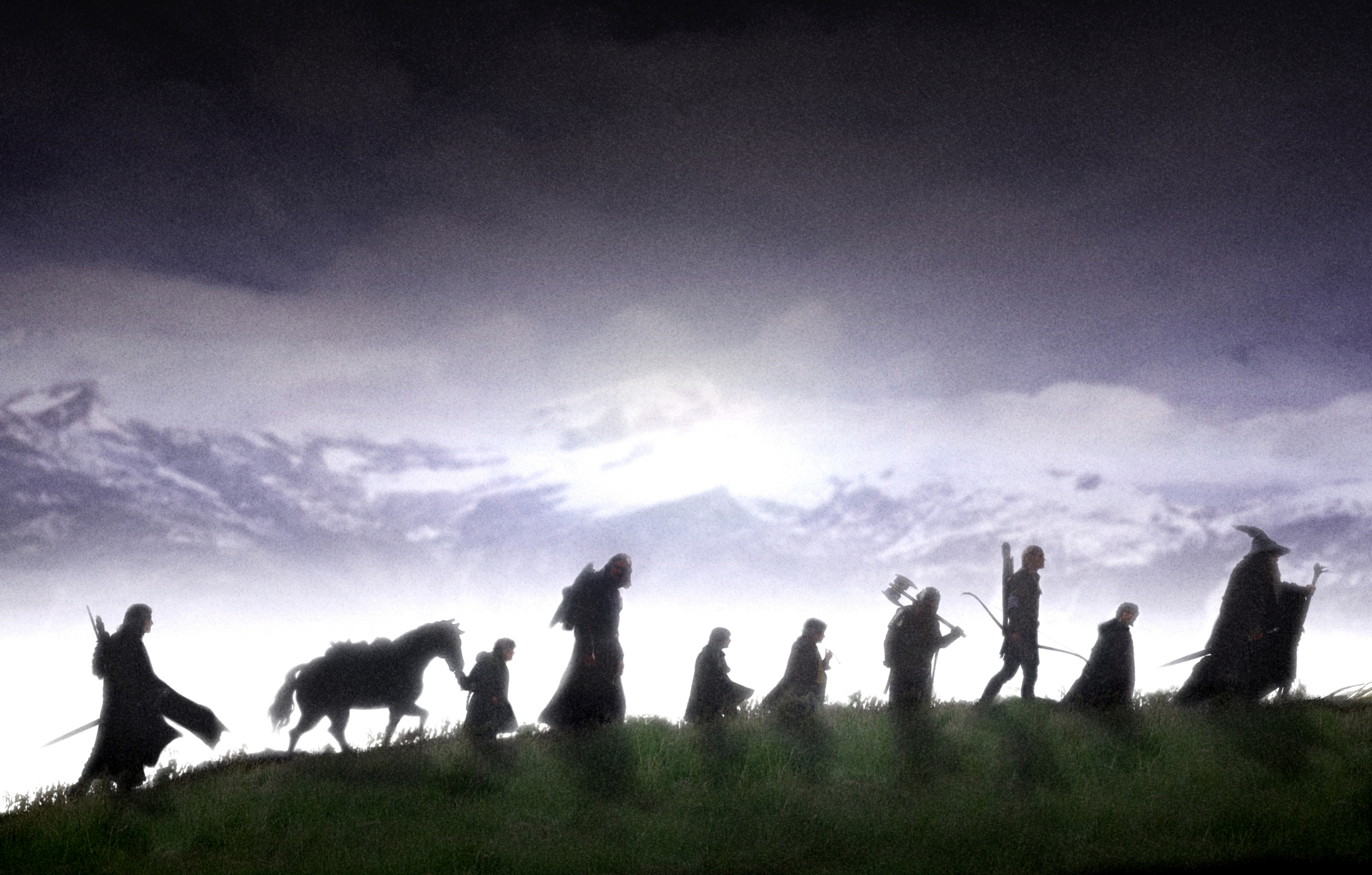 Lord of the Rings Silhouette