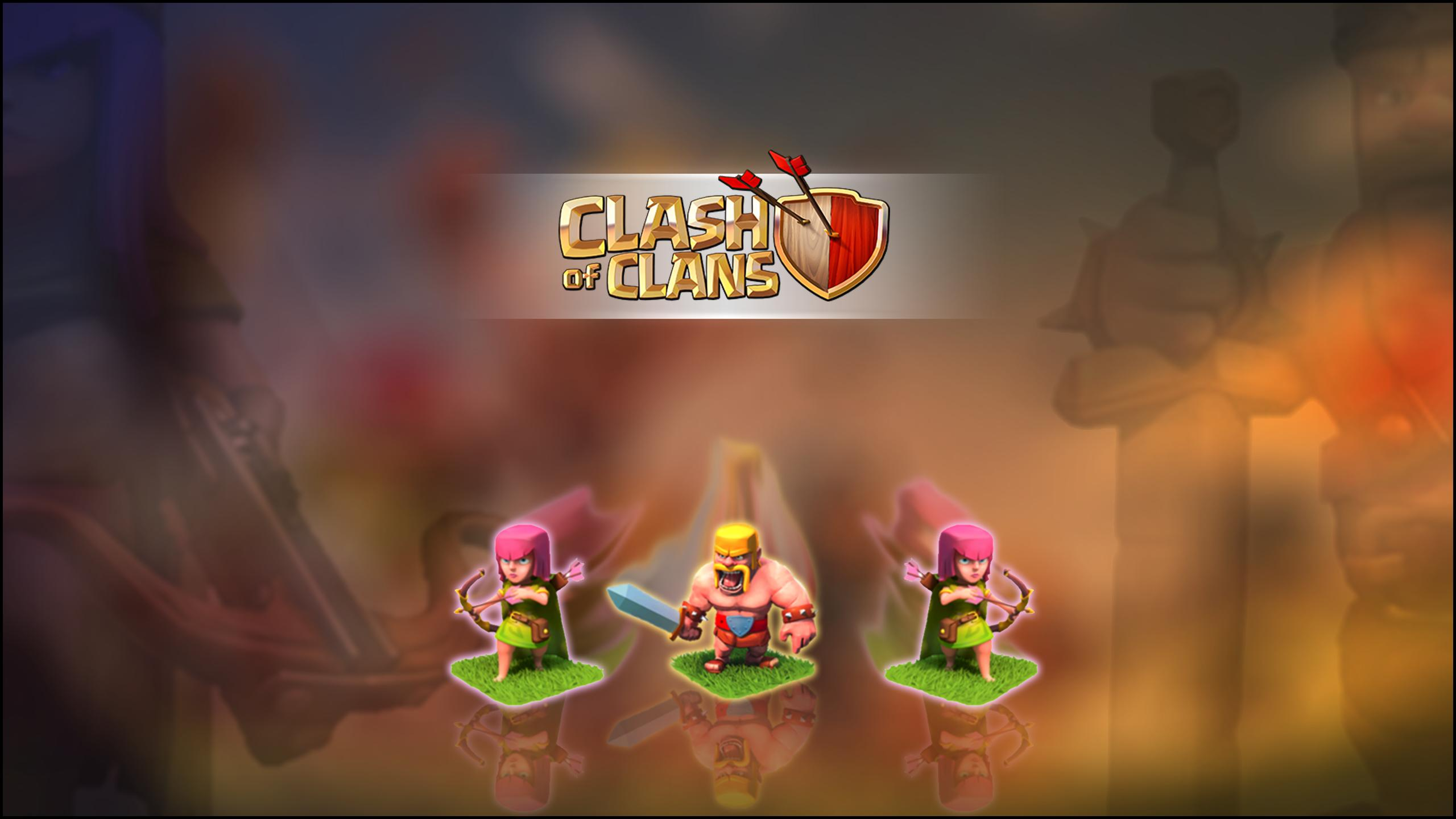 Clash Of Clans Hd Wallpaper Background Image 2560x1440 Id