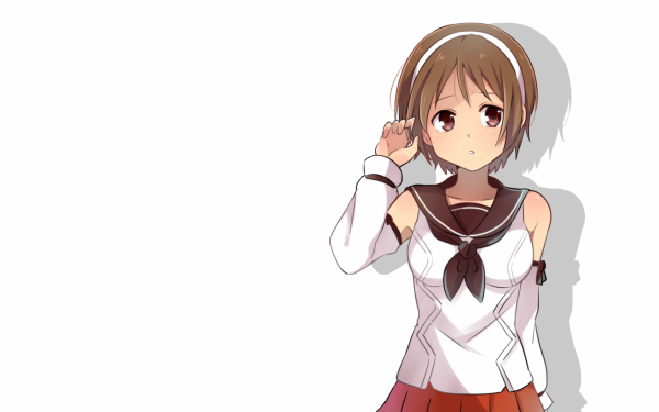 Anime Kantai Collection Natori HD Wallpaper | Background Image