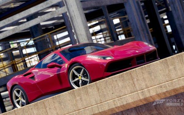 Video Game Forza Horizon 3 Forza Ferrari 488 GTB Ferrari 488 Ferrari HD Wallpaper | Background Image