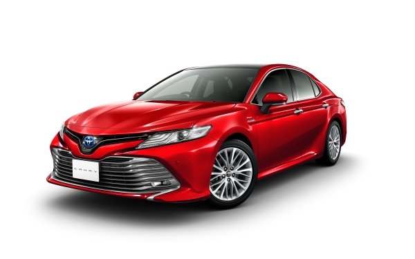 Vehicles Toyota Camry Toyota Car Red Car Compact Car HD Wallpaper | Background Image