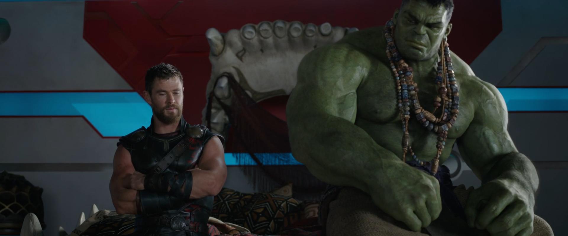 Movie - Thor: Ragnarok  Hulk Thor Wallpaper