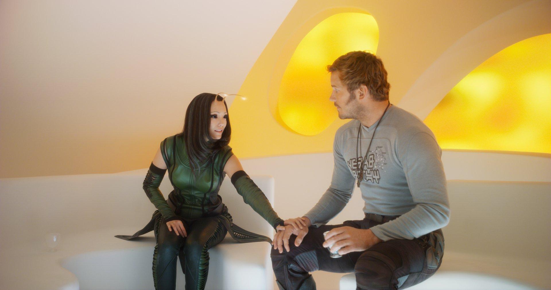 Movie - Guardians of the Galaxy Vol. 2  Pom Klementieff Mantis (Marvel Comics) Chris Pratt Star Lord Wallpaper