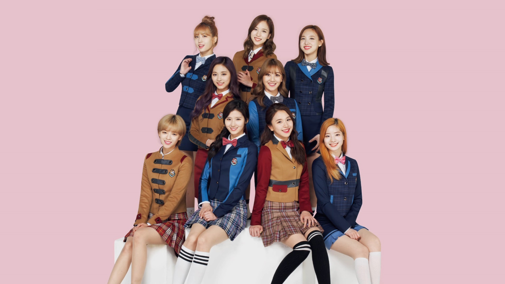 Twice Hd Wallpaper Background Image 1920x1080 Id 858057
