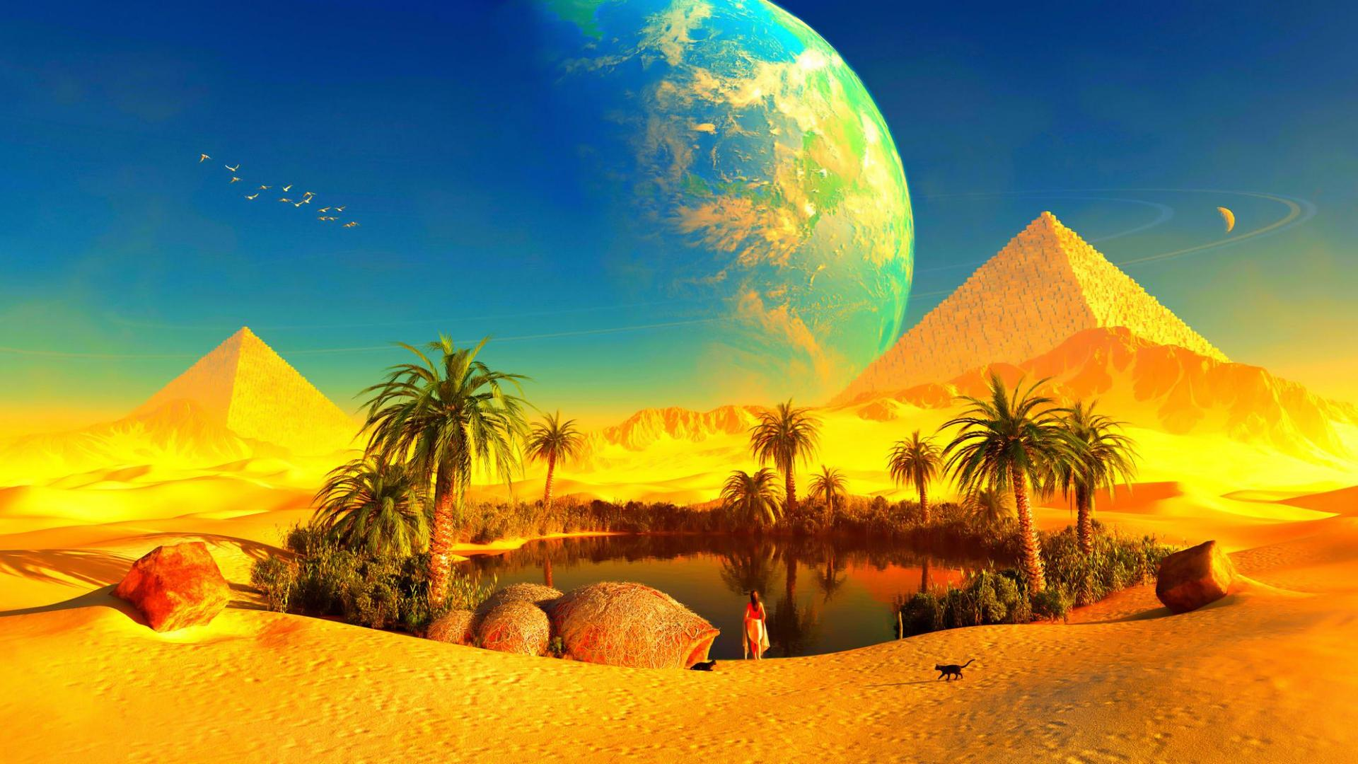 oasis landscape wallpapers archives - photo #14
