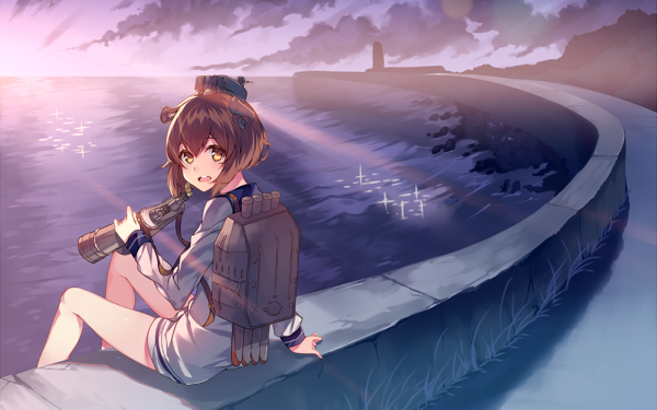 Anime Kantai Collection Yukikaze HD Wallpaper   Background Image