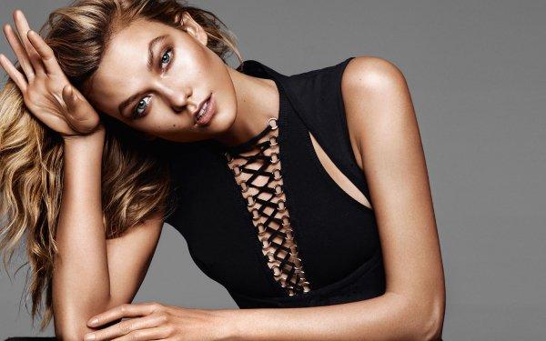Celebrity Karlie Kloss Models United States Model American Blonde Blue Eyes HD Wallpaper | Background Image