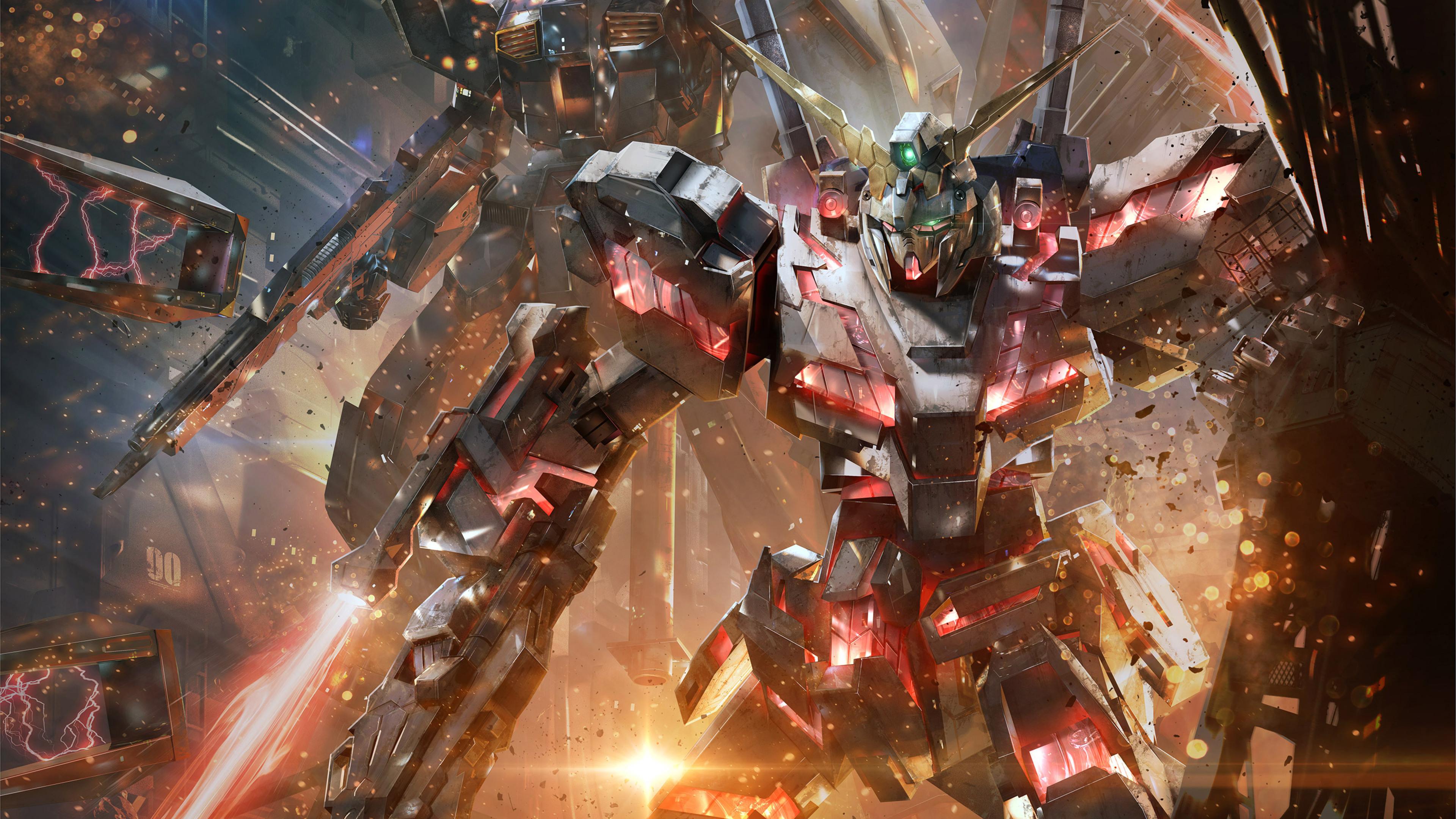 Hd Gundam Themes: Gundam Versus 4k Ultra HD Wallpaper