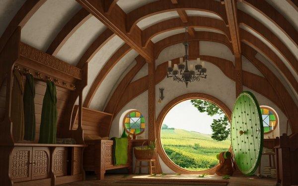 Fantaisie Le Seigneur des anneaux Maison Fond d'écran HD | Image