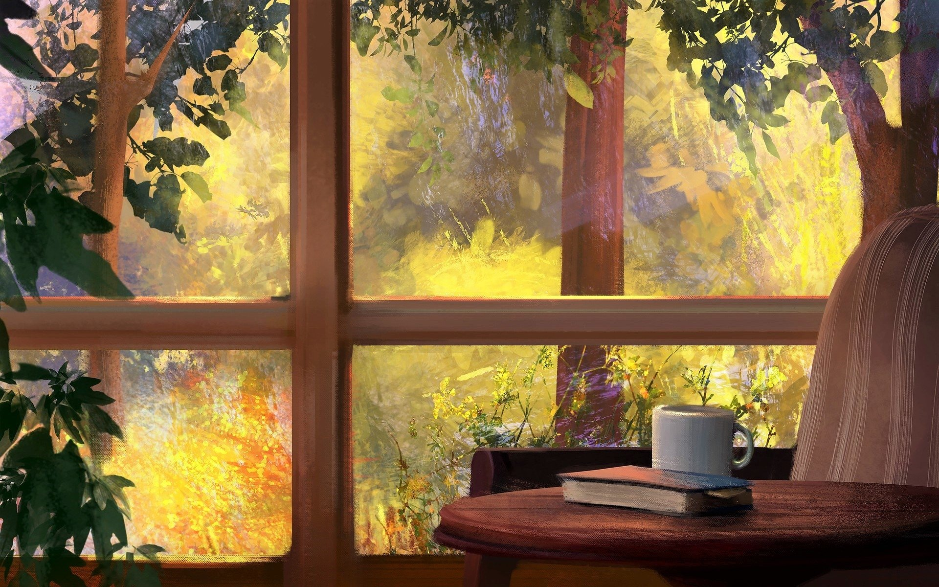 View From The Kitchen Window HD Wallpaper