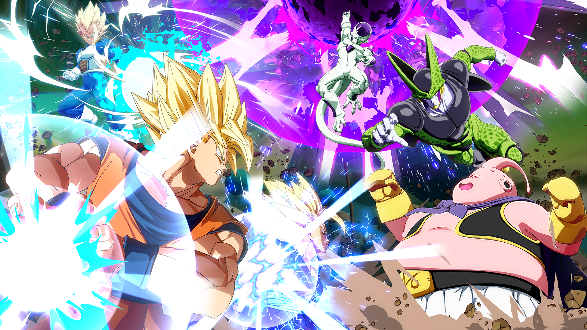 110 Dragon Ball Fighterz Hd Wallpapers Background Images Wallpaper Abyss