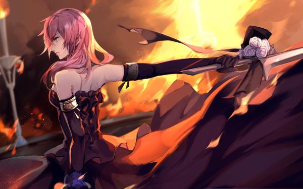 Video Game Lightning Returns: Final Fantasy XIII Final Fantasy Lightning Claire Farron HD Wallpaper | Background Image