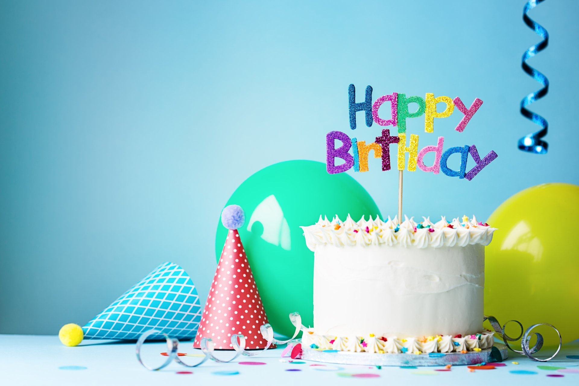 Holiday - Birthday  Happy Birthday Colors Cake Pastry Wallpaper