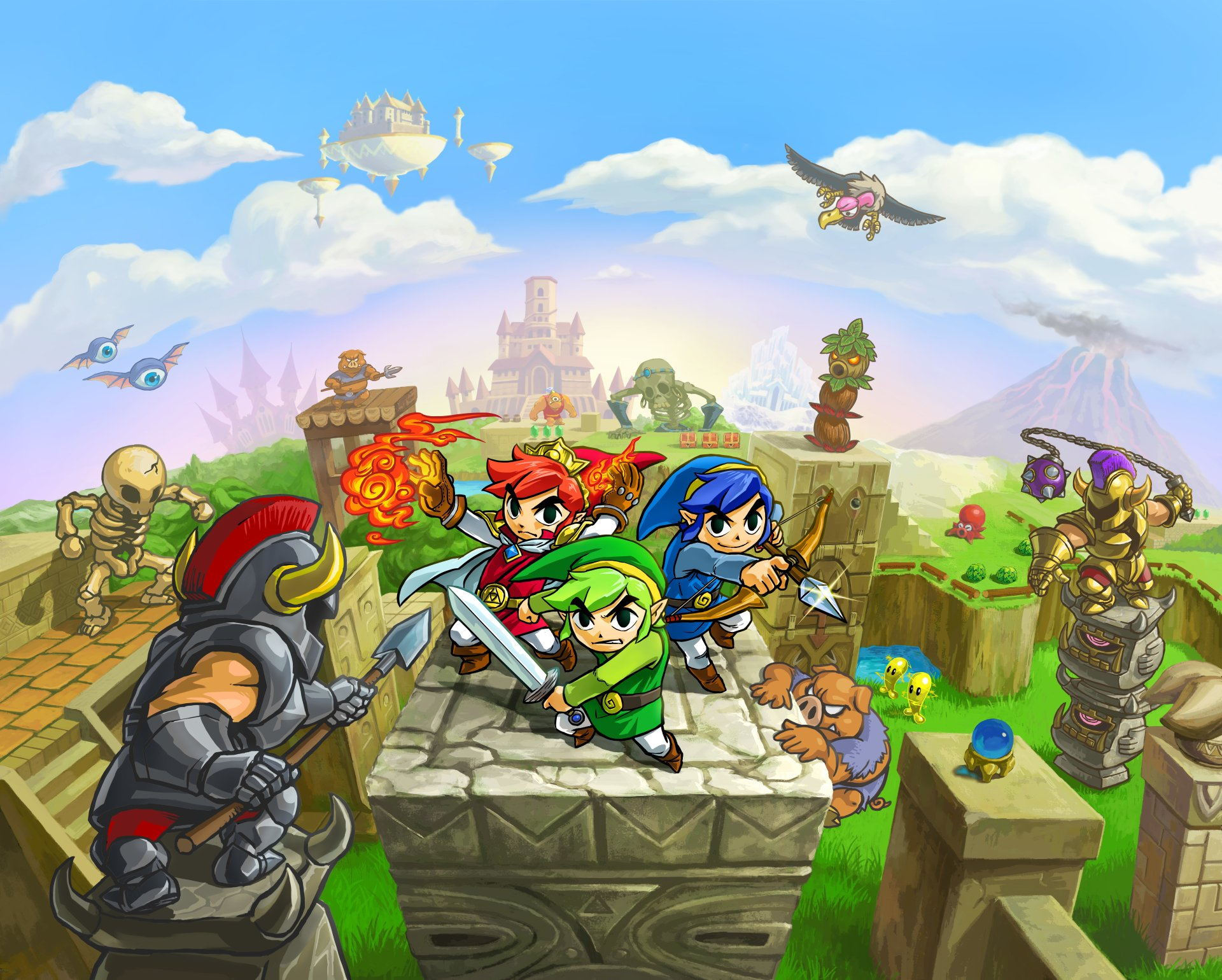 2 The Legend Of Zelda Tri Force Heroes Hd Wallpapers Background
