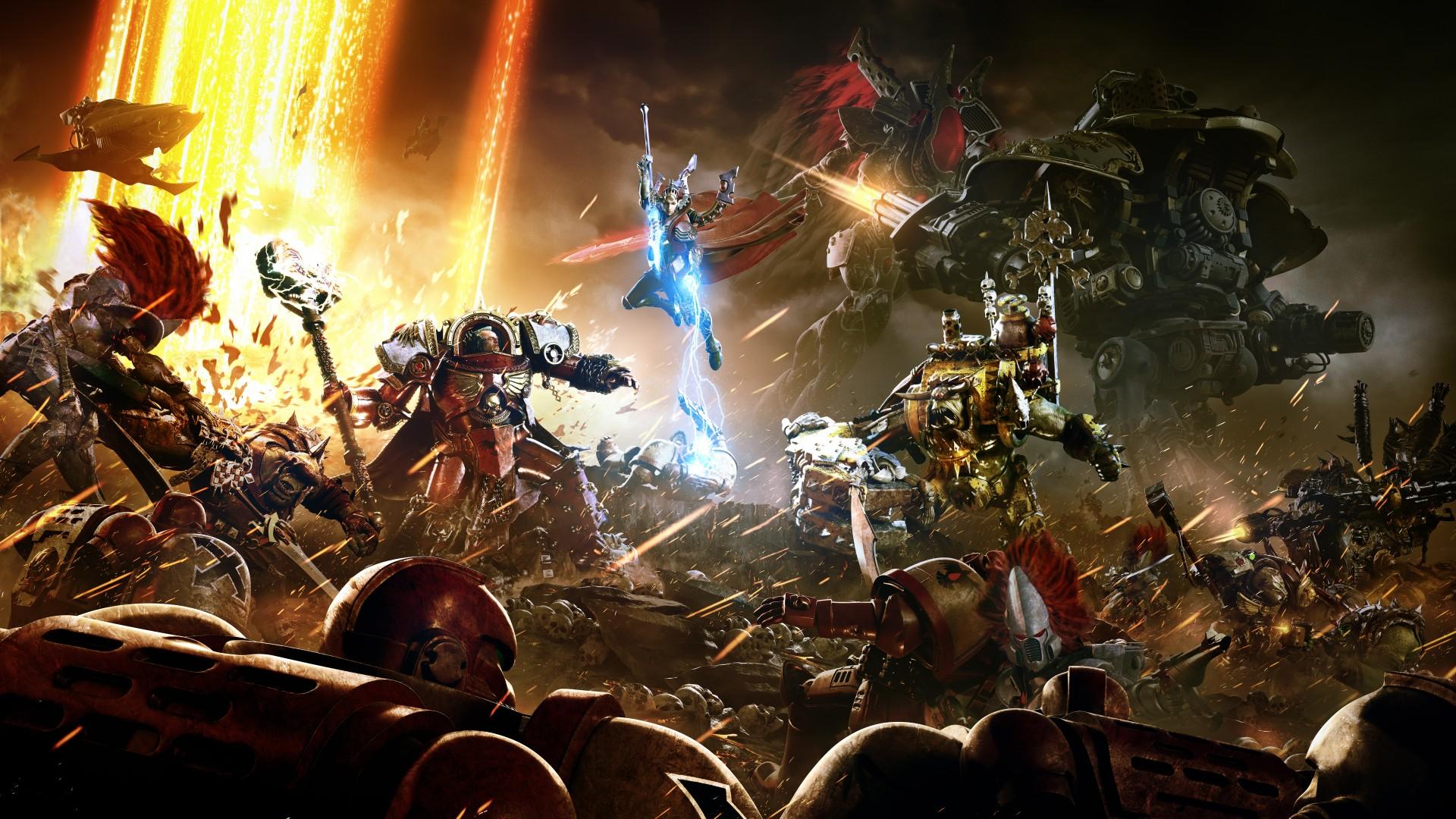 Warhammer 40000 Dawn Of War Iii Fondo De Pantalla Hd