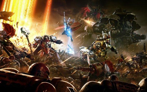 Video Game Warhammer 40,000: Dawn of War III Warhammer Warhammer 40k Space Marine Ork Eldar HD Wallpaper | Background Image