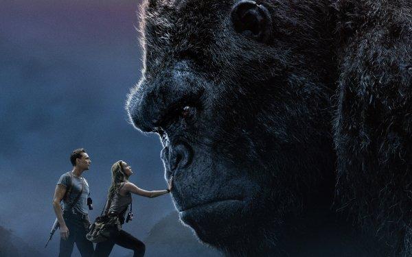 Movie Kong: Skull Island Brie Larson Tom Hiddleston HD Wallpaper | Background Image