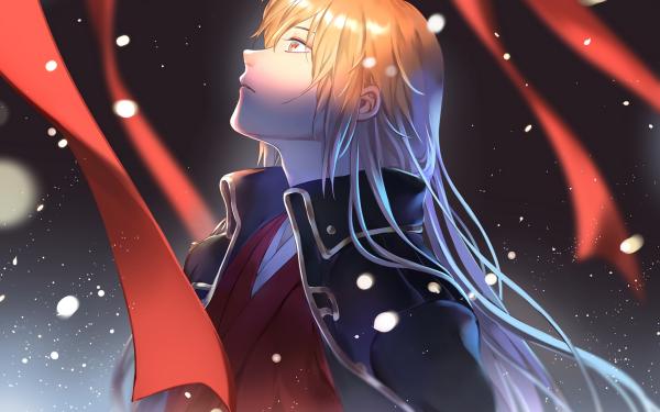 Anime Gintama Okita Sougo HD Wallpaper | Background Image