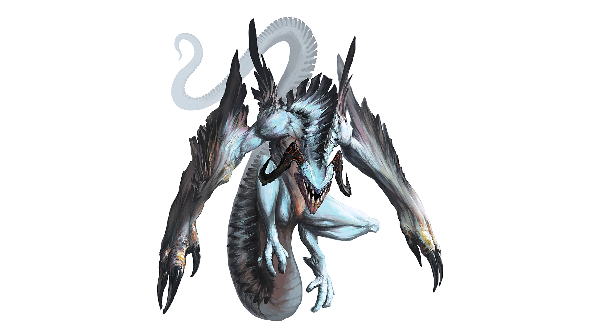 Fantasy - Dragon  Fantasy Monster Wallpaper