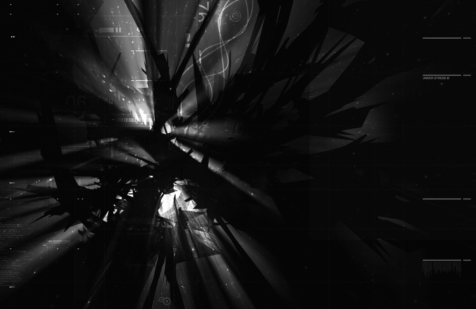 Abstrakt - Schwarz  Hintergrundbild