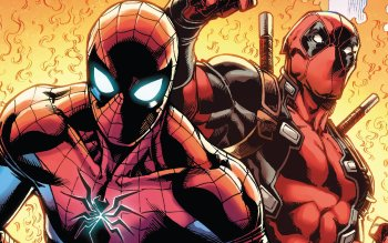 Deadpool Spider Man HD Wallpaper