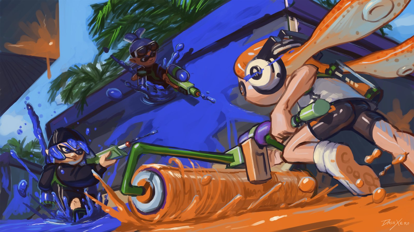 Video Game - Splatoon  Inkling (Splatoon) Wallpaper