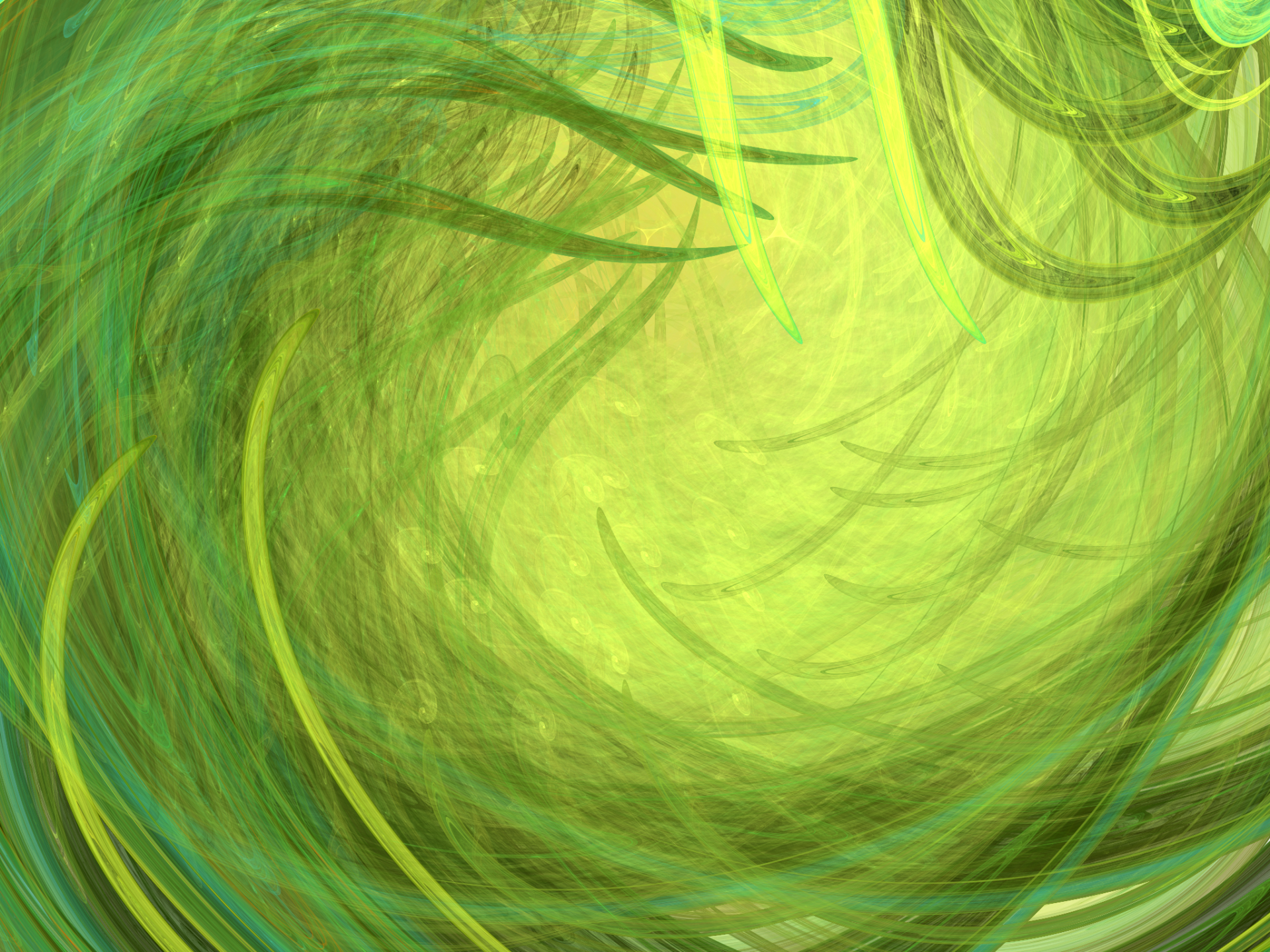 Abstract - Fractal  Abstract Apophysis (software) 3D Green Digital Art Grass Wallpaper
