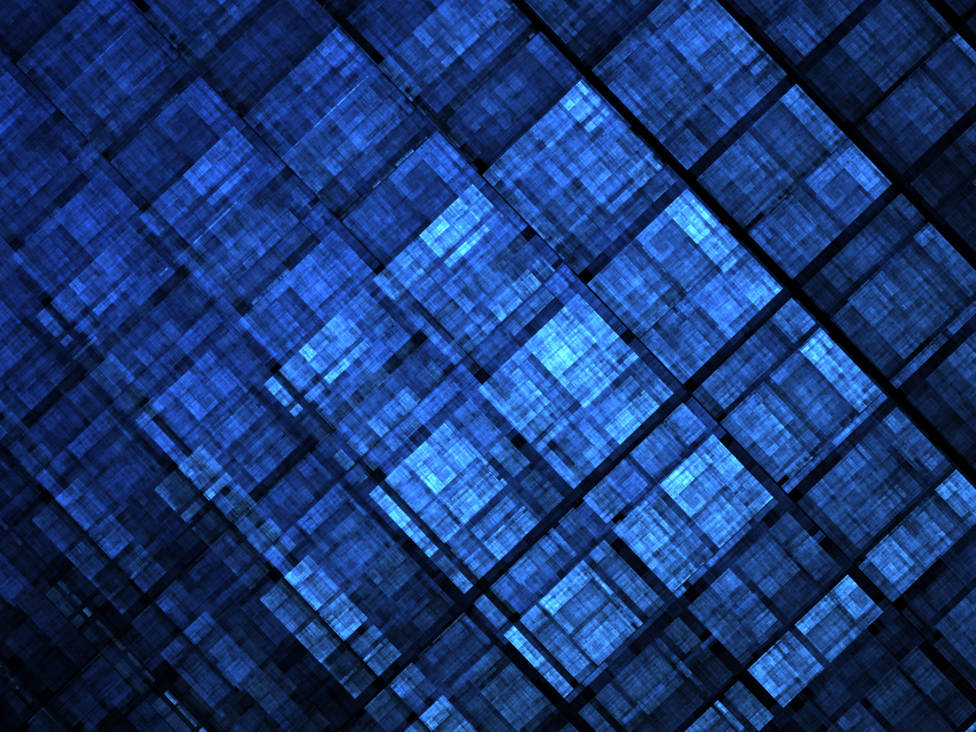 Abstract - Fractal  Pattern Texture Blue Apophysis (software) Square Digital Art Digital Artistic Abstract Wallpaper