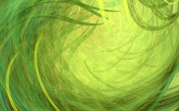 Abstract Fractal Apophysis 3D Green Grass HD Wallpaper | Background Image