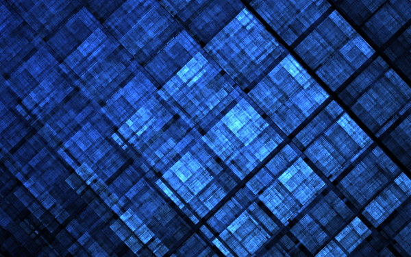 Abstract Fractal Pattern Texture Blue Apophysis Square HD Wallpaper | Background Image