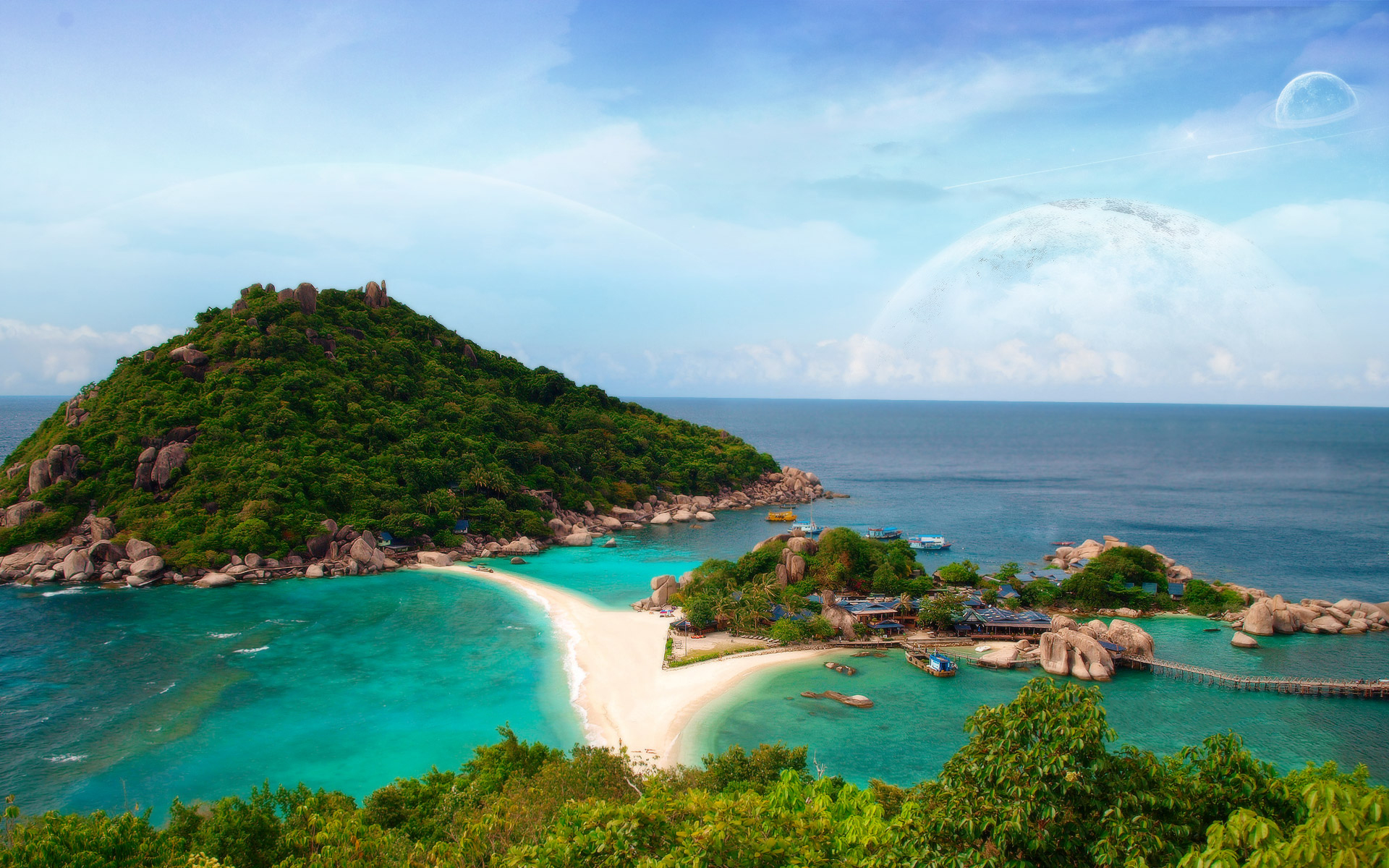 Ko Tao Island In Thailand Full HD Wallpaper And Background Image