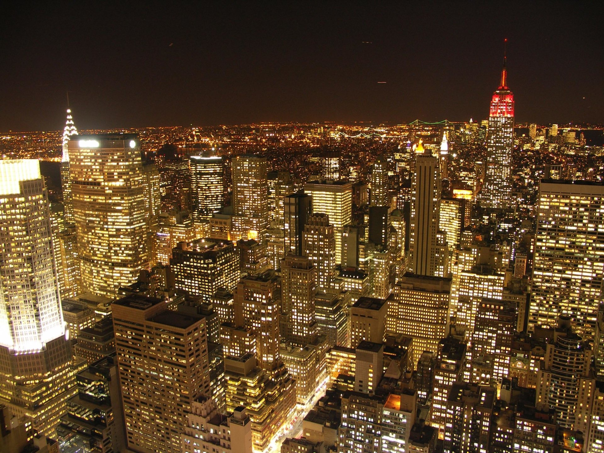 Man Made - New York  City Skyline Metropolis Wallpaper