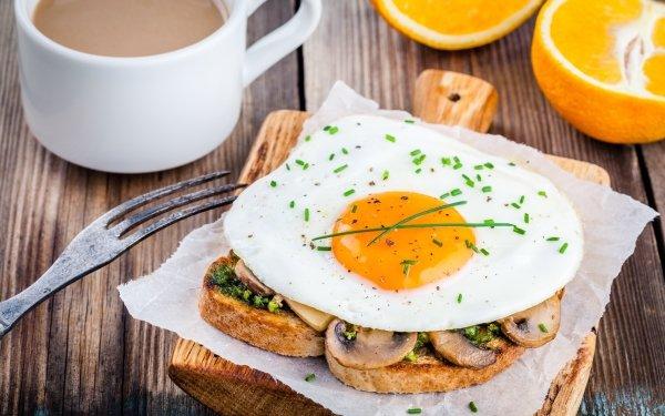 Alimento Desayuno Huevo Toast Bodegón Café Cup Fruta Fondo de pantalla HD | Fondo de Escritorio