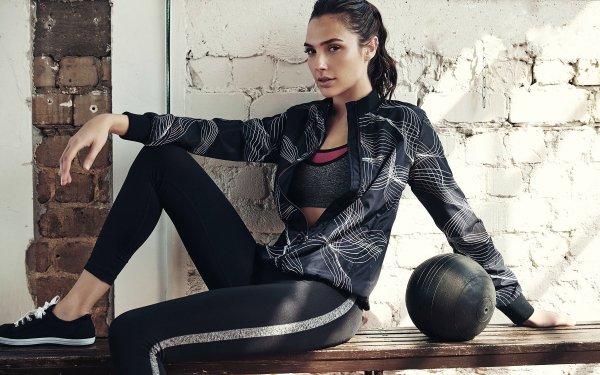 Celebrity Gal Gadot Actresses Israel Actress Fitness Israeli Brunette Brown Eyes HD Wallpaper   Background Image