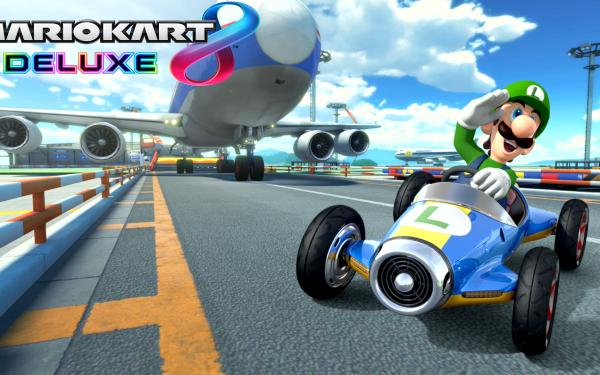 Videojuego Mario Kart 8 Deluxe Mario Luigi Fondo de pantalla HD   Fondo de Escritorio