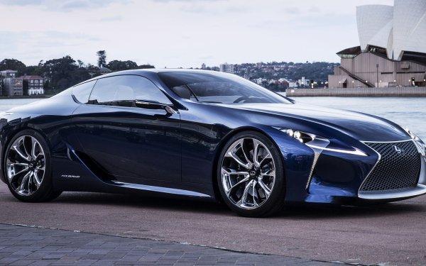 Véhicules Lexus LF-LC Lexus Concept Car Luxury Car Blue Car Coupé Fond d'écran HD | Image