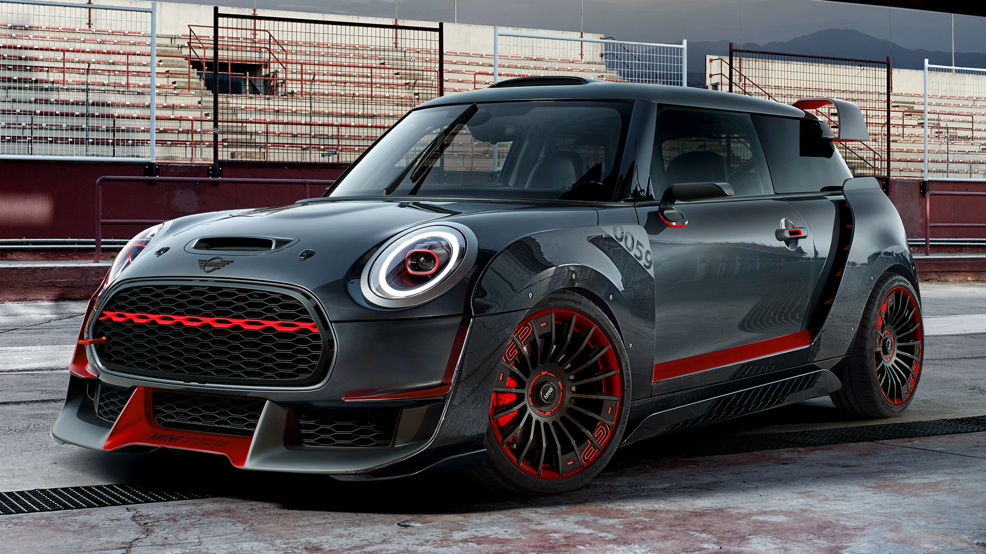 2017 Mini John Cooper Works GP Concept HD Wallpaper