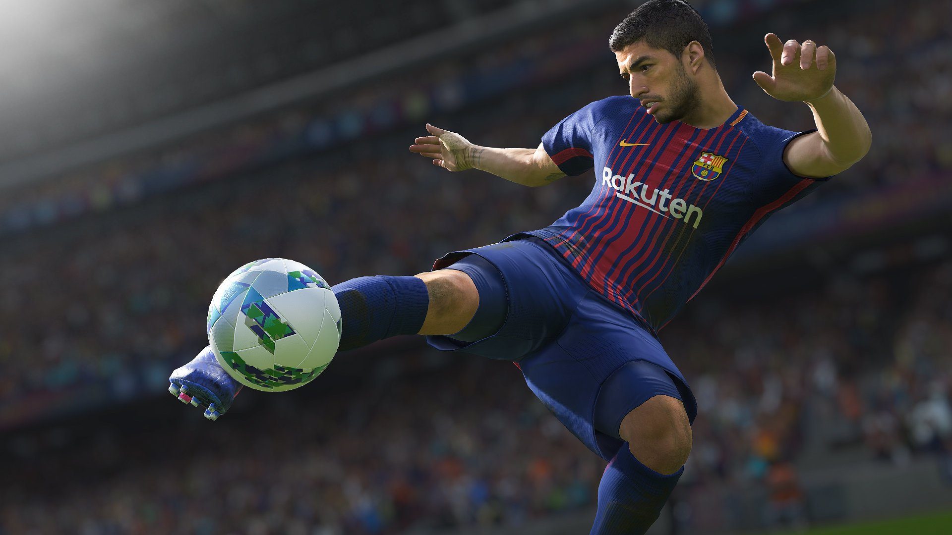 Video Game - FIFA 18  FC Barcelona FIFA Luis Suárez Wallpaper
