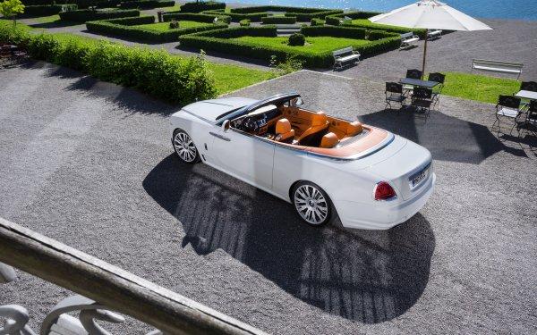 Véhicules Rolls-Royce Dawn Rolls Royce Rolls-Royce Voiture White Car Luxury Car Fond d'écran HD   Image