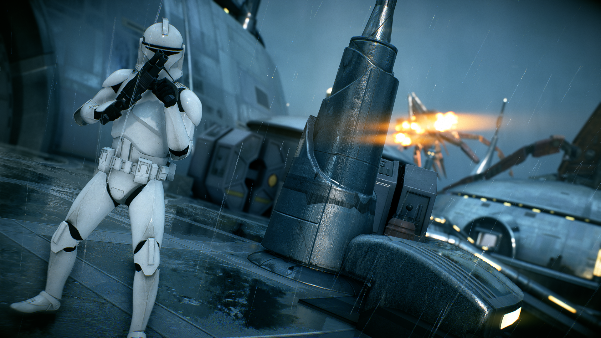 Vanguard Clone Trooper HD Wallpaper