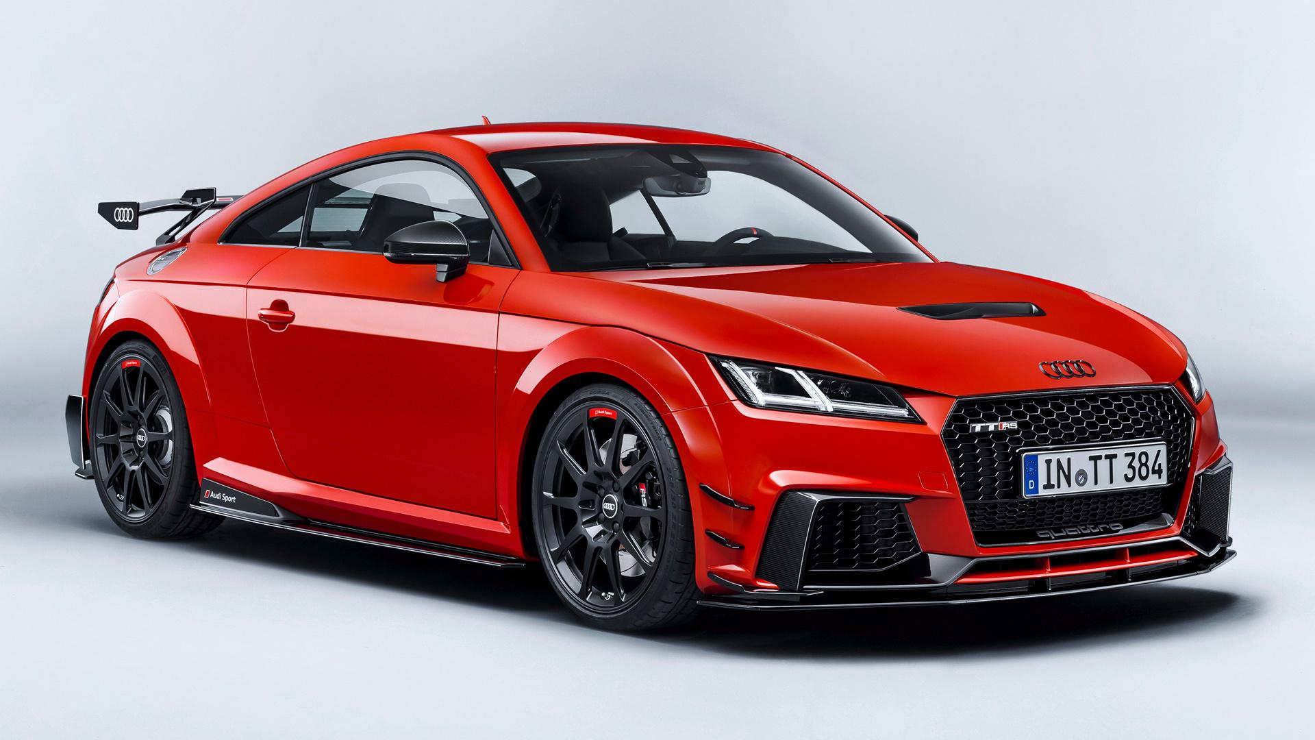 2017 Audi TT RS Coupe performance parts HD Wallpaper ...