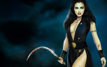 Fantasy - Women Warrior Wallpapers and Backgrounds ID : 88509