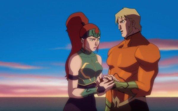 Movie Justice League: Throne of Atlantis Justice League Mera DC Comics Aquaman HD Wallpaper | Background Image