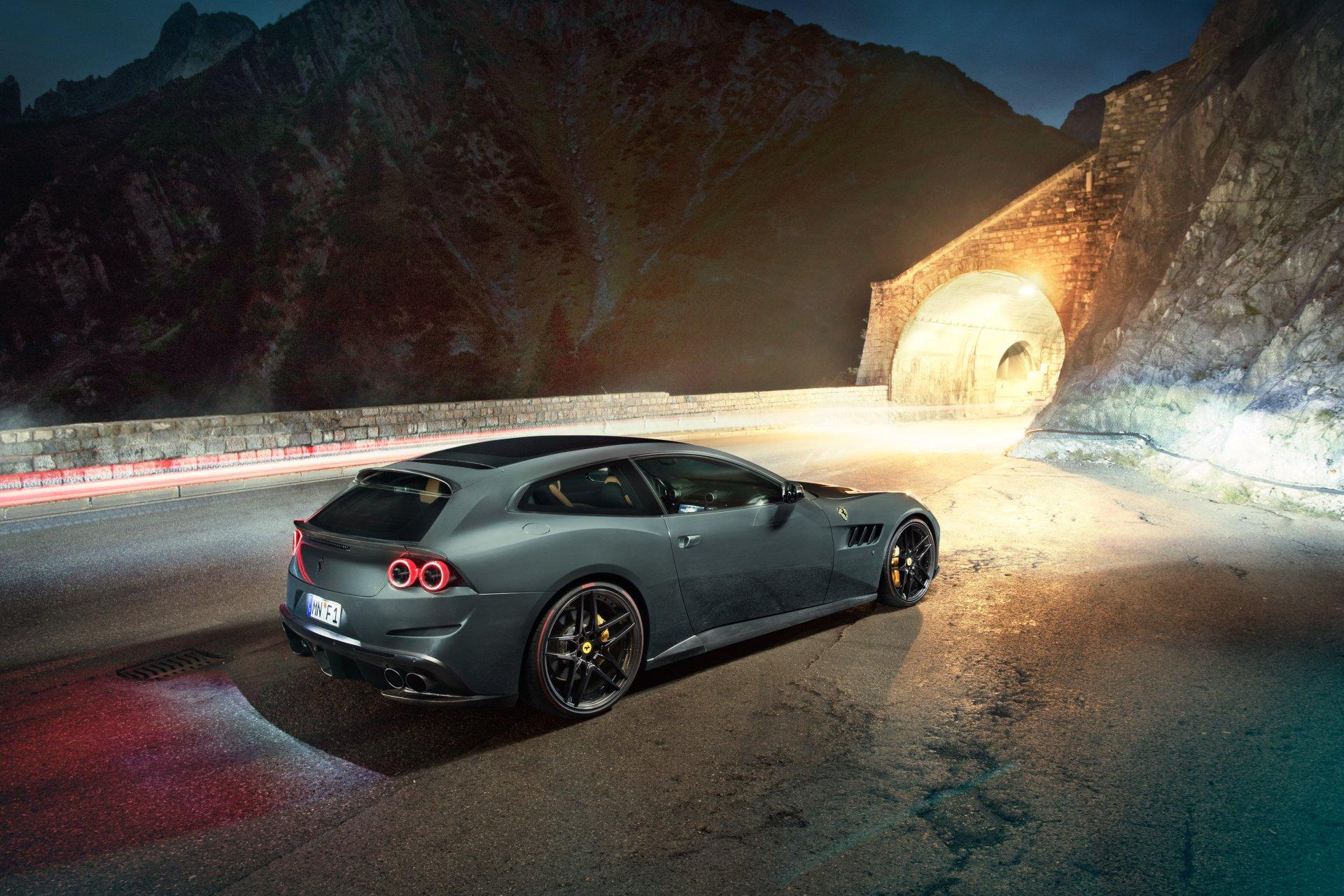 Vehicles - Ferrari GTC4Lusso  Novitec Rosso Ferrari GTC4Lusso Sport Car Supercar Tuning Car Wallpaper