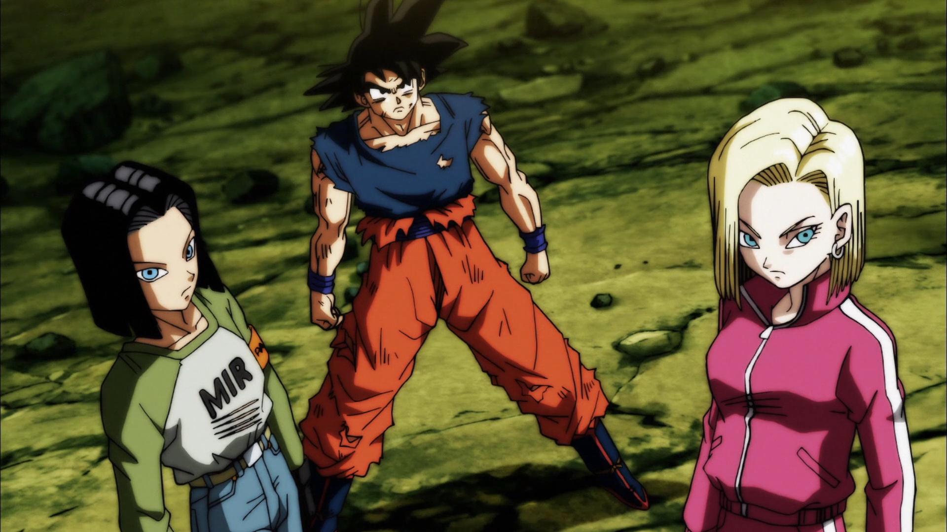 Goku C 17 And C 18 Hd Wallpaper Background Image 1920x1080